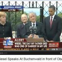 Elie-Wiesel-Speaks-At-Buchenwald-in-front-of-Obama-an-Angela-Merkel-